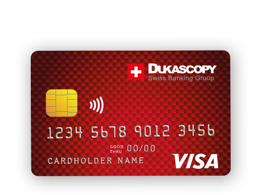 Dukascopy card